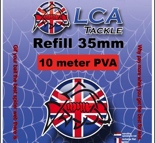 LCA Tackle LCA Tackle 35mm Spiderweb REFILL 10mtr - PVA