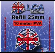 LCA Tackle LCA Tackle 25mm Spiderweb REFILL 10mtr