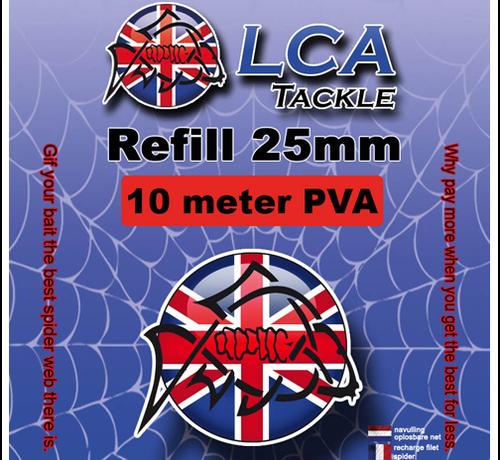 LCA Tackle LCA Tackle 25mm Spiderweb REFILL 10mtr - PVA