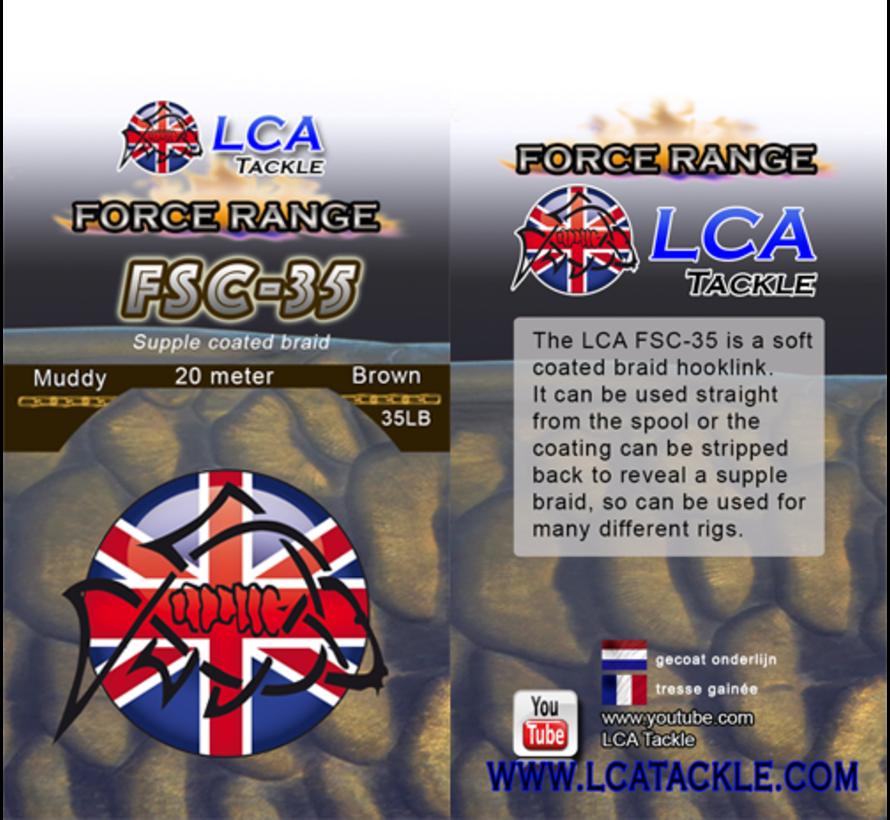 LCA Tackle FSC35 Supple Coated Braid