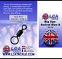 LCA Tackle Big Eye Swivel Size 8 - Wartels
