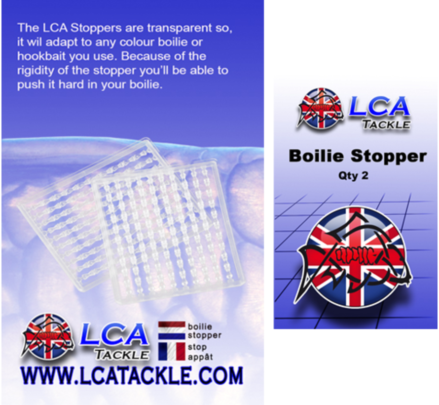 LCA Tackle Boillie Stops - Boiliestoppers