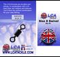LCA Tackle Size 8 Swivel - Wartels