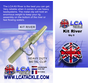 LCA Tackle Leadclips Kit River