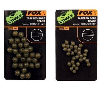 Fox Fox Tapered Bore Beads Trans Khaki