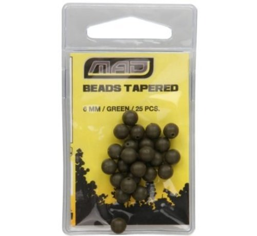 MAD MAD Tapered Beads 6mm