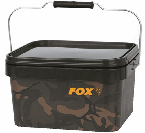 Fox Fox Camo Square Bucket 5 Liter - Emmer