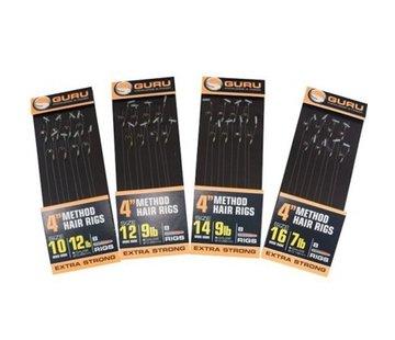 """Guru Guru 4"""" Method Hair Rigs Extra Strong Speedstop"""