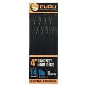 """Guru Guru 4"""" Bayonet Hair Rigs"""