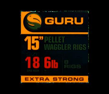 """Guru Guru 15"""" Pellet Waggler Rigs"""