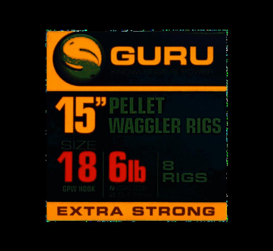 """Guru 15"""" Pellet Waggler Rigs - Onderlijn"""