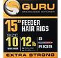"""Guru 15"""" Feeder Hair Rigs Speedstop - Onderlijn"""