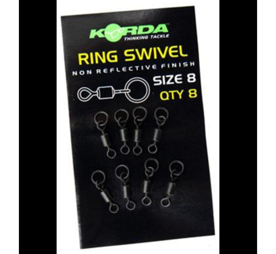 Korda Ring Swivel Size 8 - Wartels