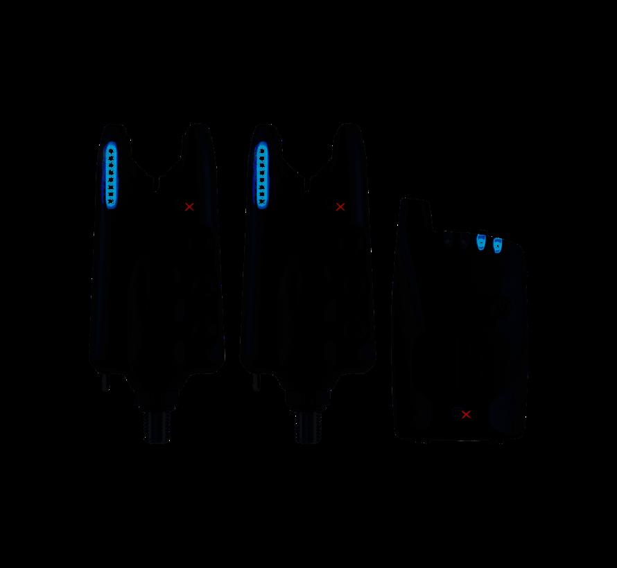 JRC Radar CX Set 2+1 Blue - Beetmelderset