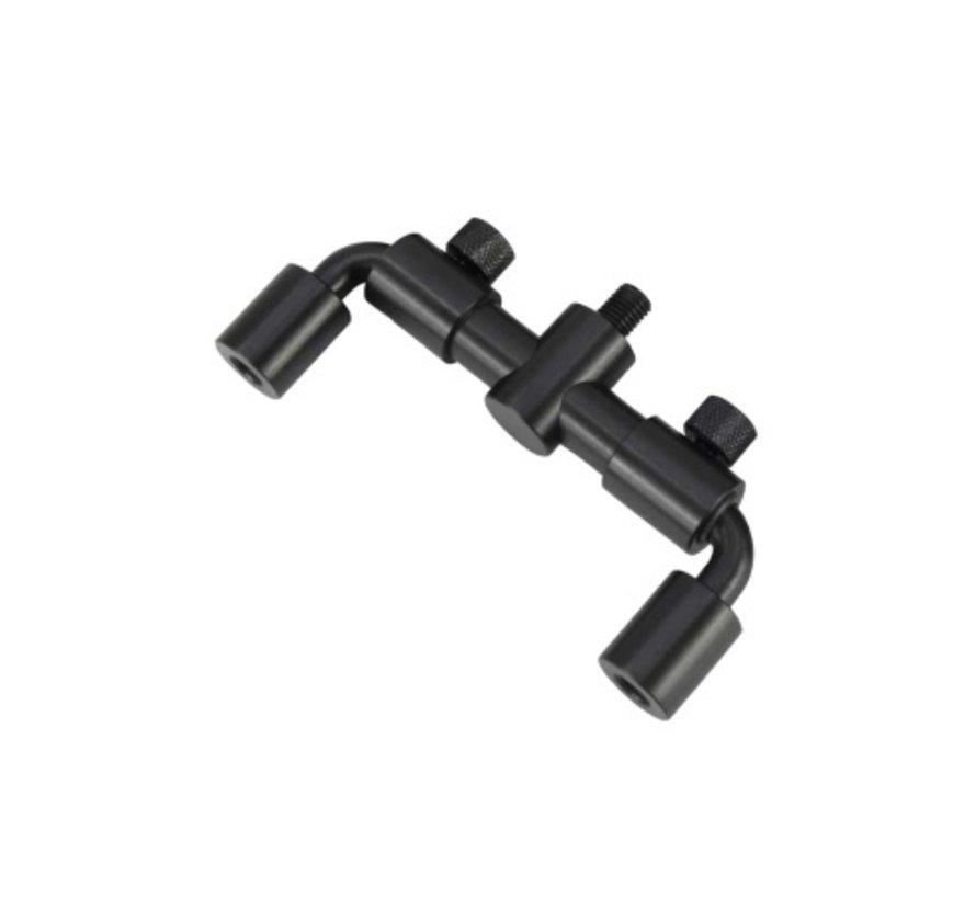 Cygnet 20/20 Adjustable Swan Neck 2 Rod - Buzzerbars