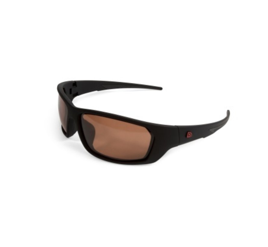 Trakker Amber Wrap Around Sunglasses - Polaroidbril