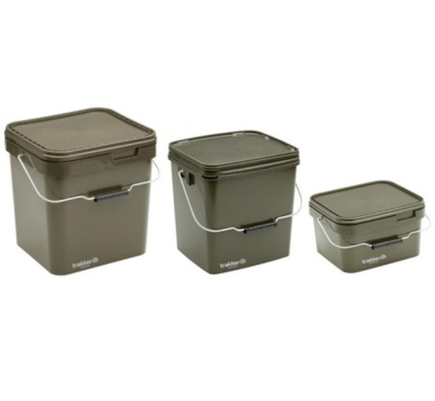 Trakker 5 Ltr Olive Square Container
