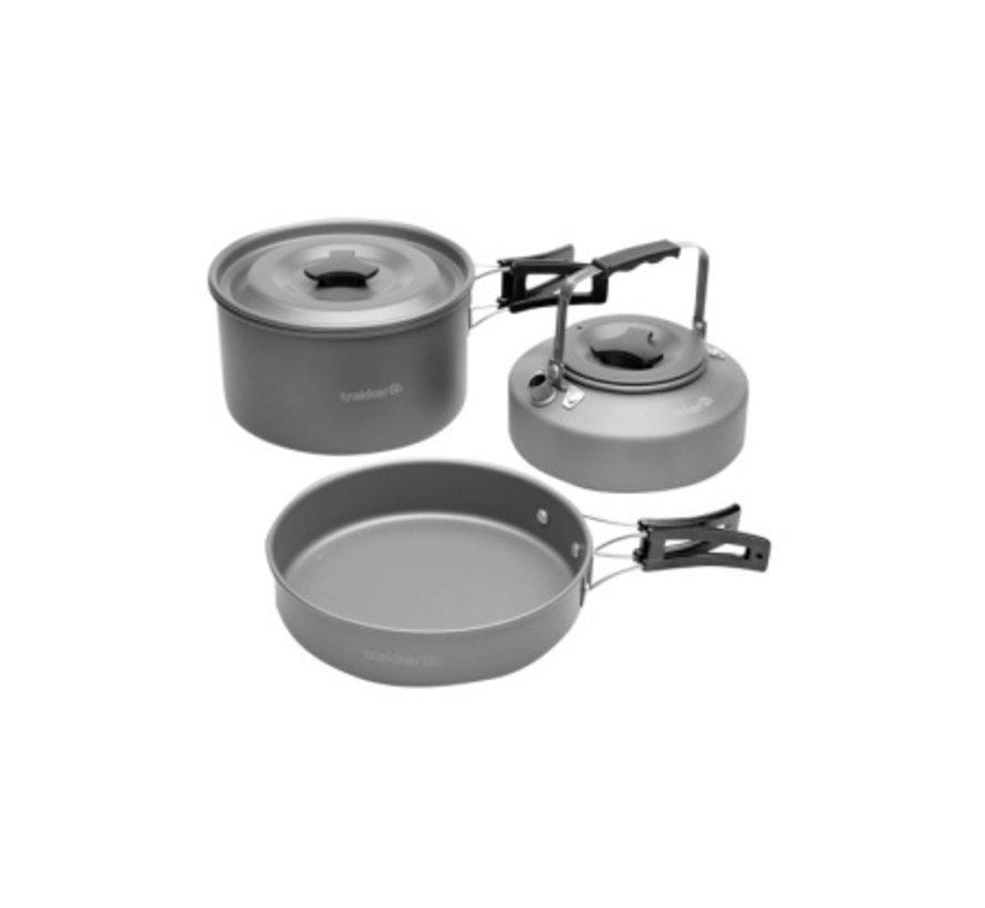 Trakker Armolife Complete Cookware Set - Kookset