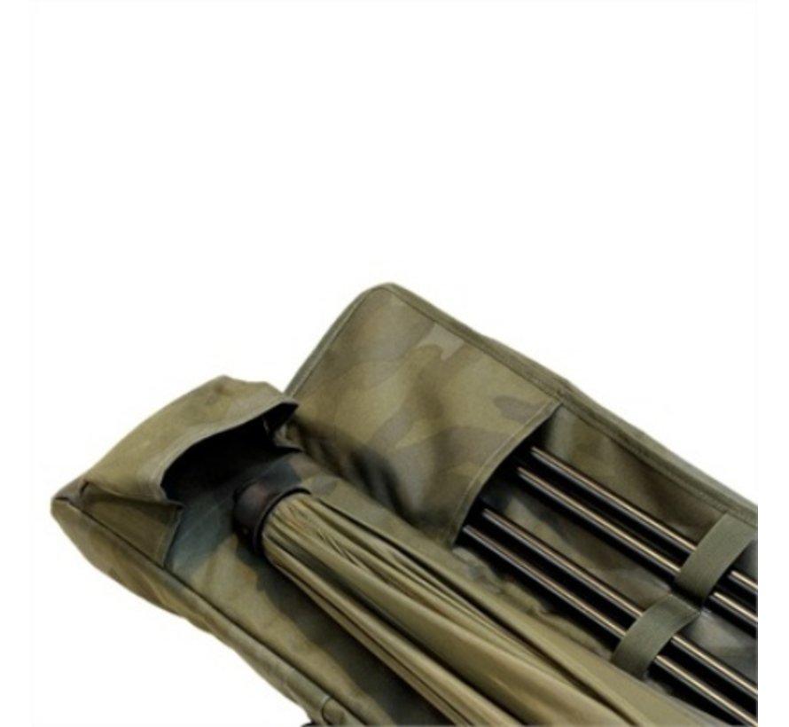 Sonik SK-TEK 3 Rod Compact Sleeve - Karperfoudraal