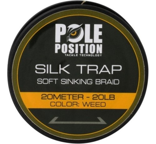Strategy Strategy Pole Position Silk Trap Soft Sinking Braid 20 lb - Onderlijnmateriaal