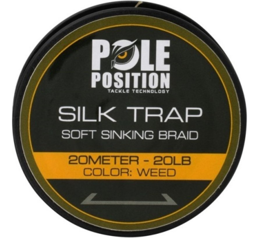 Strategy Pole Position Silk Trap Soft Sinking Braid 20 lb - Onderlijnmateriaal