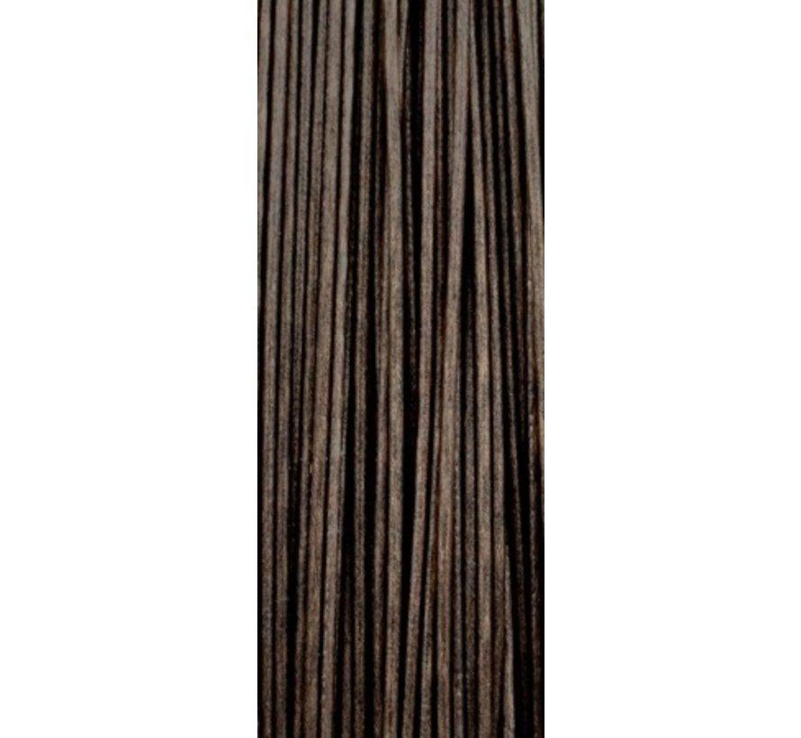 Strategy Pole Position Tungsta Flex Soft Coated Braid Muddy Brown - Onderlijnmateriaal