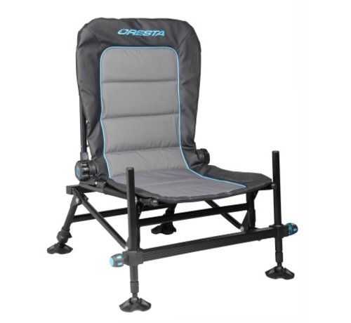 Cresta Cresta Black Thorne Comfort Chair Compact - Visstoel