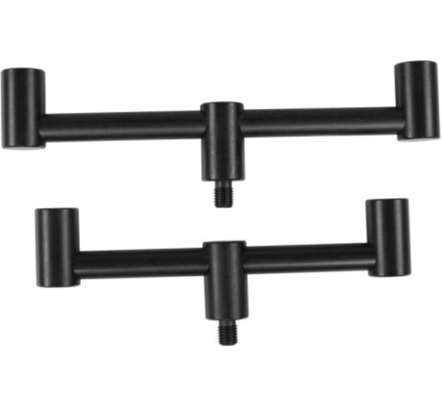 MAD Black Aluminium Goal Post Buzzer Bar 2 Rod