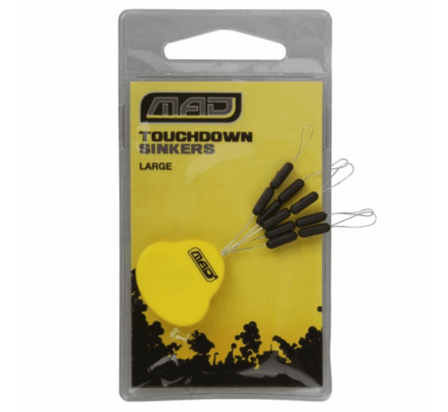 MAD Touchdown sinkers - Tungsten
