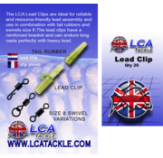 LCA Tackle LCA Lead Clips 20 pcs