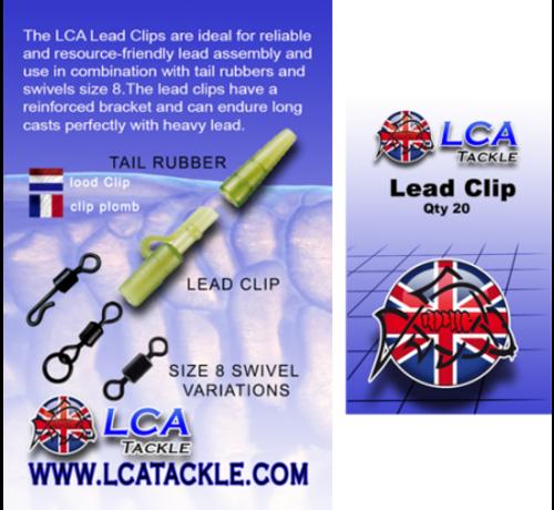 LCA Tackle LCA Lead Clips 20 pcs - Lead Clips