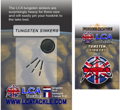 LCA Tackle LCA Tackle Tungsten Sinkers - Tungsten