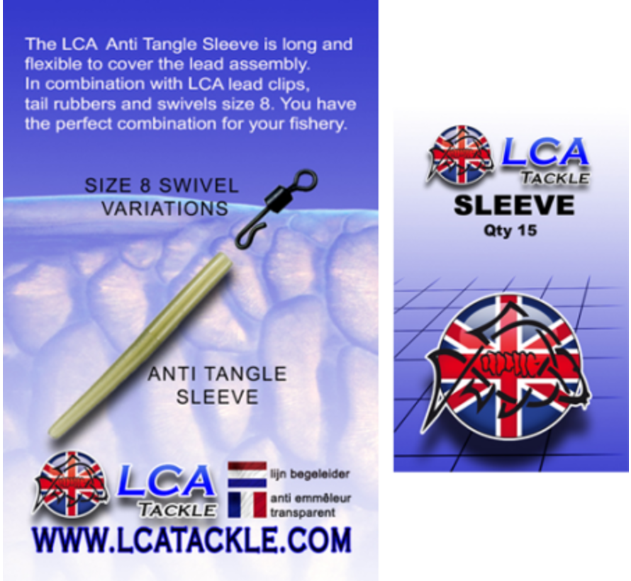 LCA Tackle Anti Tangle Sleeves - Anti Tangle Sleeves