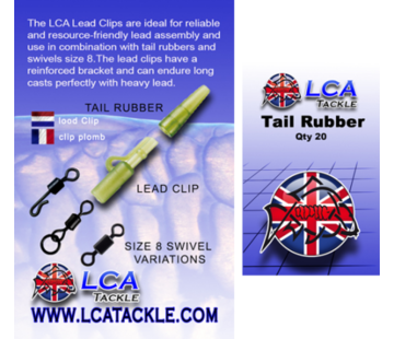 LCA Tackle LCA Tackle Tail Rubbers