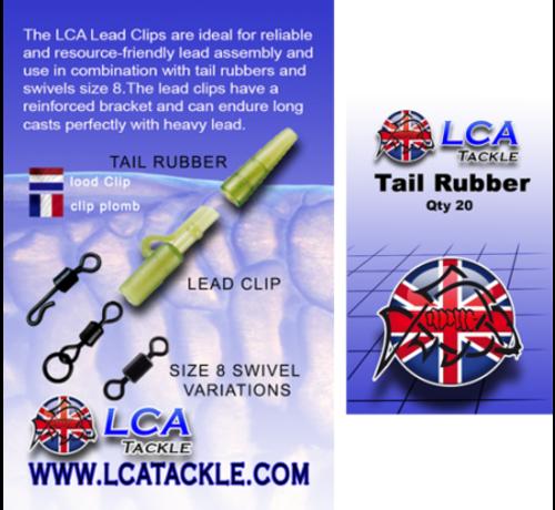 LCA Tackle LCA Tackle Tail Rubbers - Tail Rubbers