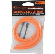 Fox FOX Method & Multi Bait Spare Elastic & 2 Connectors