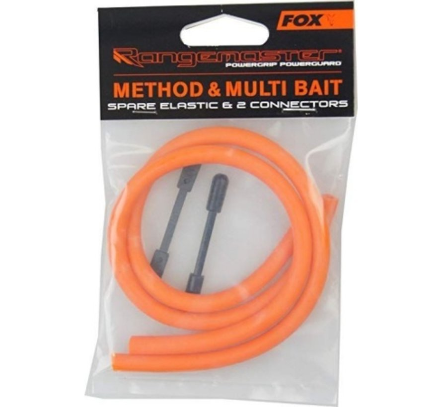 FOX Method & Multi Bait Spare Elastic & 2 Connectors