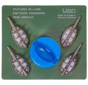 Lion Sports Futura Method Feeder Set (5 stuks)