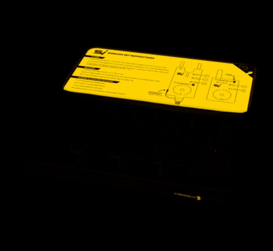 Strategy SI Wireless Bite Alarm Set 3+1 - Beetmelderset