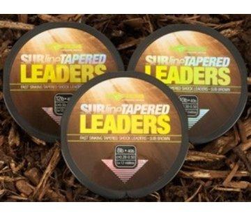 Korda Korda Subline Tapered Leaders 0,33 - 0,50 mm