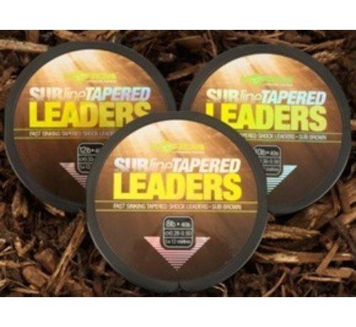 Korda Korda Subline Tapered Leaders 0,33 - 0,50 mm - Voorslagen