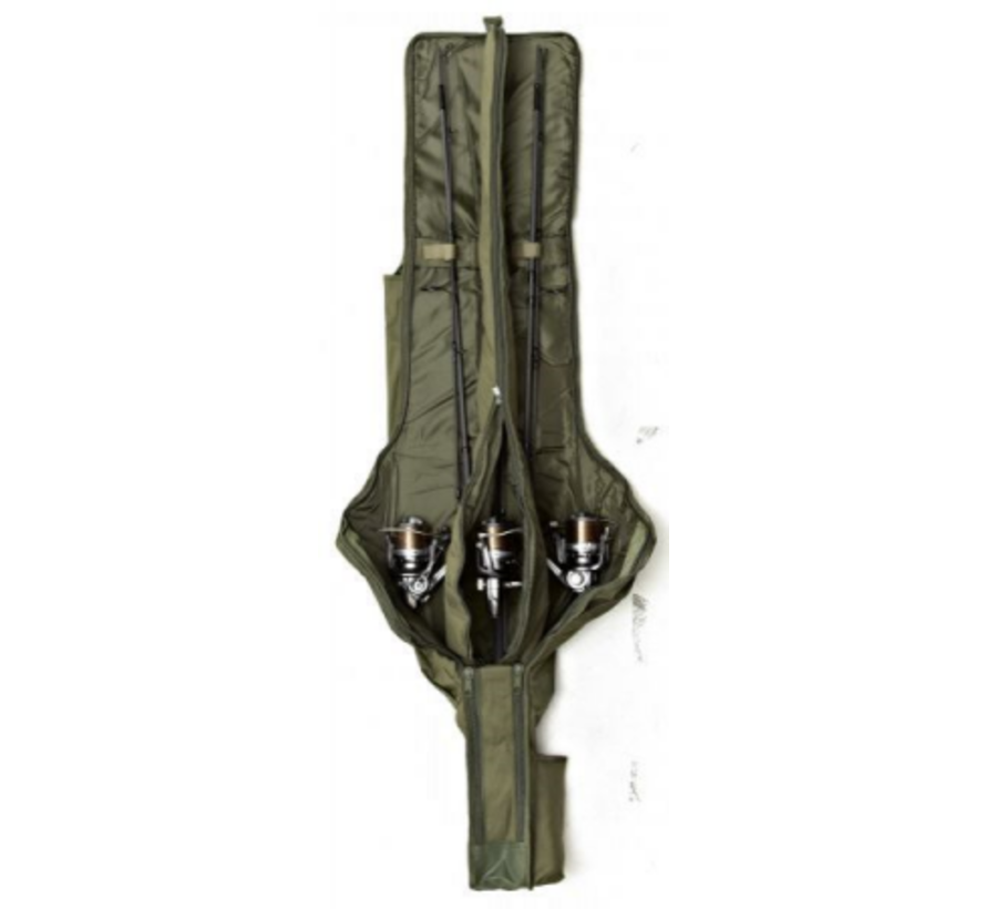 Trakker 10ft 3-Rod Padded Sleeve - Karperfoudraal