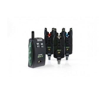 Sonik Sonik SKS 3+1 Alarm + Bivvy Light- Beetmelderset