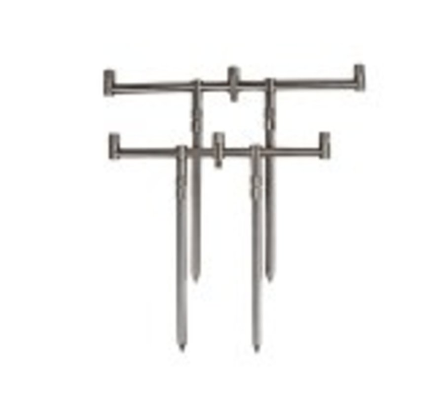 DAM Compact Stainless Steel Rod Pod 3 Rod