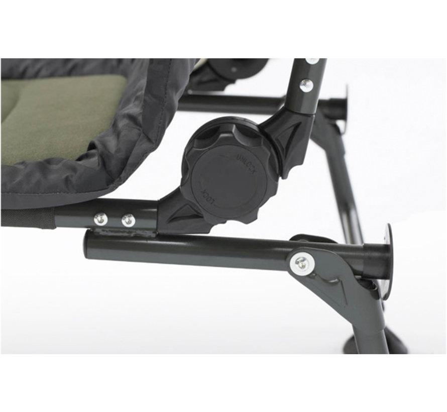 DAM Camovision Adjustable chair met armleuningen - Karperstoel