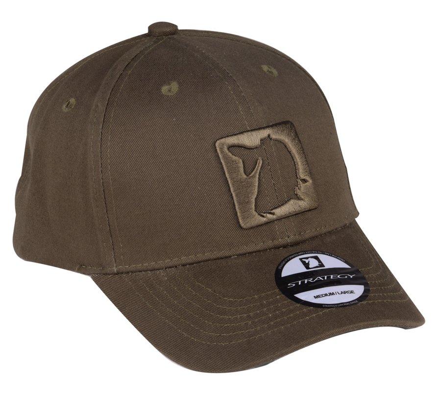 Strategy Green Base Cap