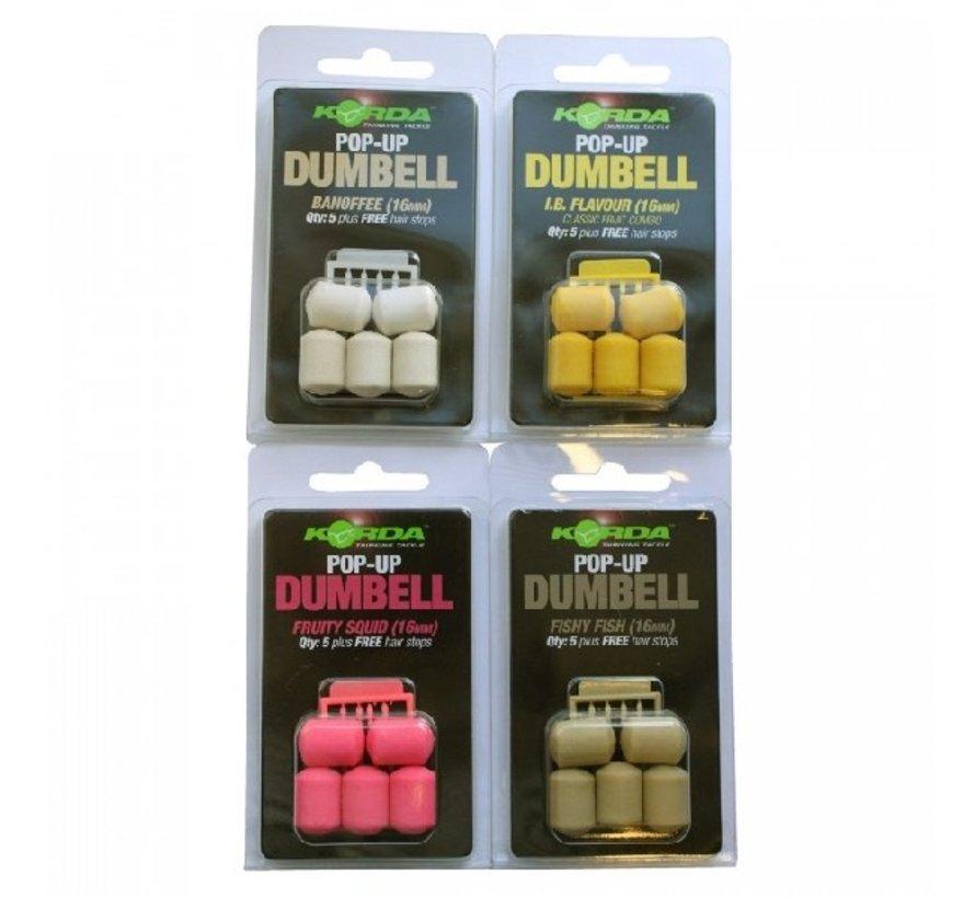 Korda Dumbell Pop-Up 16 mm