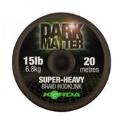 Korda Korda Dark Matter Super Heavy Braided Hooklink 20m