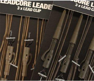 Korda Korda Leadcore Leaders 3x Hybrid Lead Clip