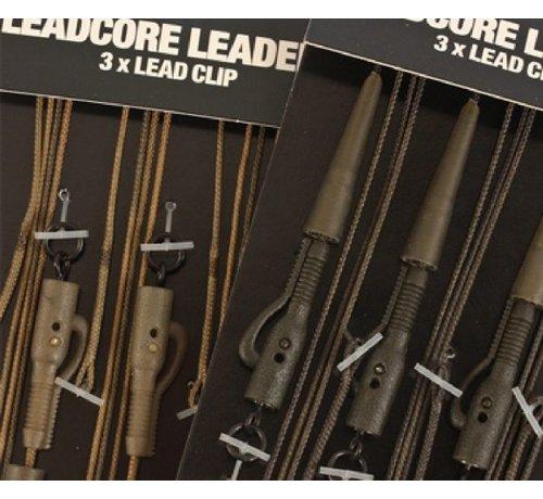 Korda Korda Leadcore Leaders 3x Hybrid Lead Clip - Leaders